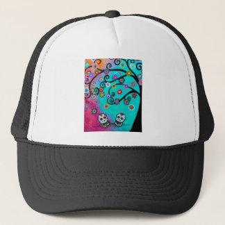 Dia de los Muertos Couple Trucker Hat
