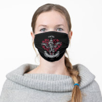 """Día De Los Muertos DAFFY DUCK™ """"You're Despicable"""" Adult Cloth Face Mask"""