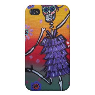 Dia de los Muertos Dancer iPhone 4/4S Cover