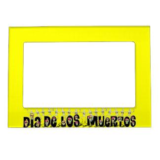 Dia De Los Muertos - Dancing Skeletons Magnetic Frame