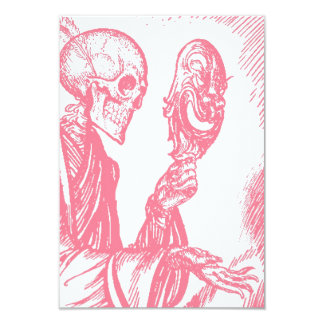"""Dia de Los Muertos Day de las invitaciones muertas Invitación 3.5"""" X 5"""""""