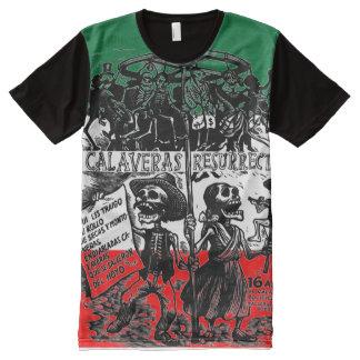 Dia de los Muertos (Day of the Dead) All-Over Print T-shirt