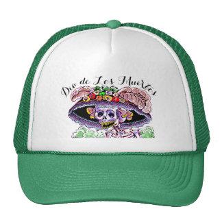 Dia de Los Muertos / Day of the Dead Catrina Hat