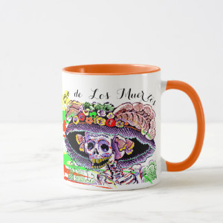 Dia de Los Muertos Day of the Dead Catrina Mug
