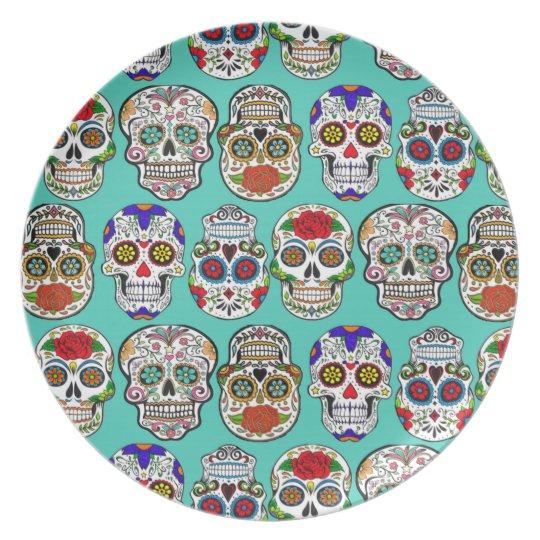 Dia de los Muertos (Day of the Dead) Dinner Plate  sc 1 st  Zazzle & Dia de los Muertos (Day of the Dead) Dinner Plate   Zazzle.com
