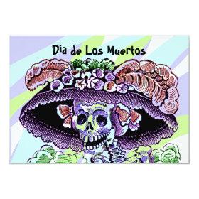 Dia de Los Muertos Day Of The Dead Invitations 5