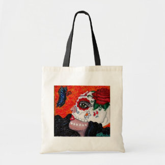 Dia de los Muertos/Day of the Dead Original Design Canvas Bags