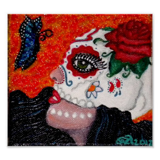 Dia de los Muertos/Day of the Dead Original Design Poster