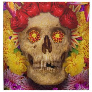 Día de los muertos - Dia de los Muertos Servilleta Imprimida