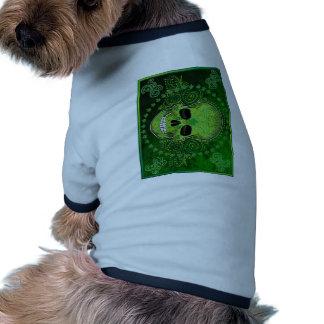 dia de los muertos doggie t-shirt