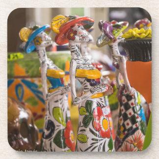 Dia de los Muertos Drink Coasters
