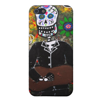Dia de los Muertos Esqueleto Case For iPhone SE/5/5s
