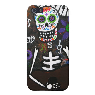 Dia de los Muertos Esqueleto Cases For iPhone 5