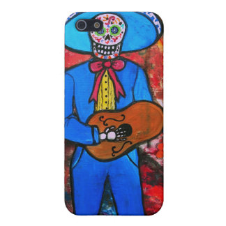 Dia de los Muertos Esqueleto Cover For iPhone 5