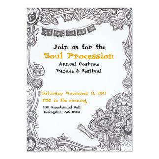 Dia de Los Muertos Event Invitation