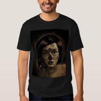 Dia De Los Muertos Face Tattoo T Shirt