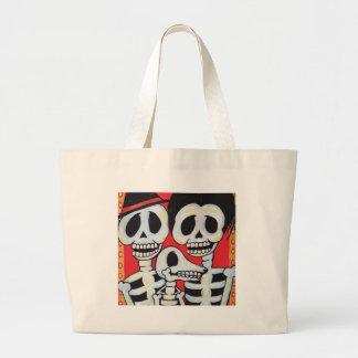 Dia de los Muertos Family Portrait Bags