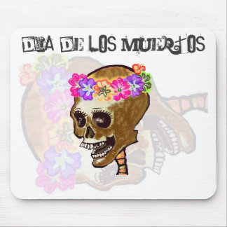 Dia de los Muertos for the computer desk Mouse Pad