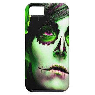 Dia de los Muertos hace frente a # 2 Funda Para iPhone 5 Tough