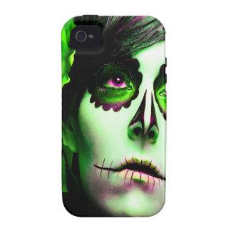 Dia de los Muertos hace frente a # 2 Vibe iPhone 4 Funda