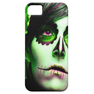 Dia de los Muertos hace frente a # 2 iPhone 5 Fundas