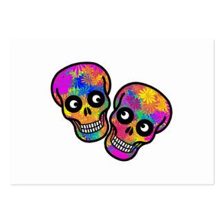 Dia De Los Muertos - Happy Couple Business Card Template