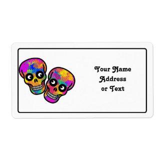 Dia De Los Muertos - Happy Couple Label