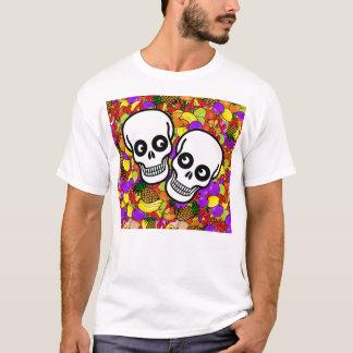 Dia De Los Muertos - Happy Couple W/Fruit T-Shirt