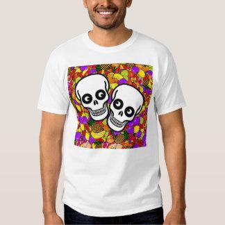 Dia De Los Muertos - Happy Couple W/Fruit Tshirt