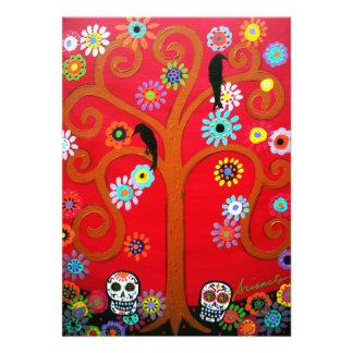 DIA DE LOS MUERTOS INVITATION CARDS