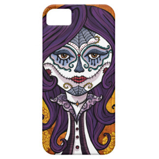 Dia de los Muertos iphone4 case-orange iPhone SE/5/5s Case