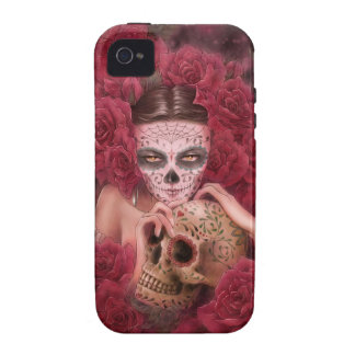 Dia de los Muertos iPhone 4 4S Case