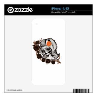Dia de los muertos iPhone 4 skins