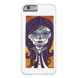 Dia de los Muertos iPhone 6 case-orange