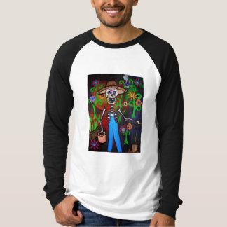 Dia De Los Muertos Jardinero T-Shirt