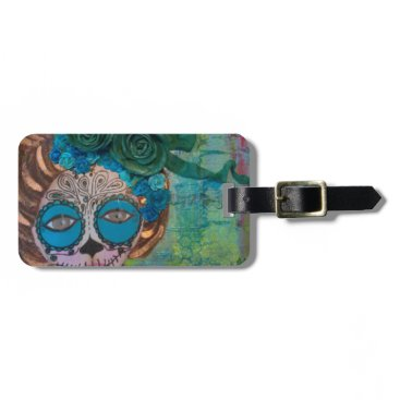 Halloween Themed dia de los muertos.jpg bag tag