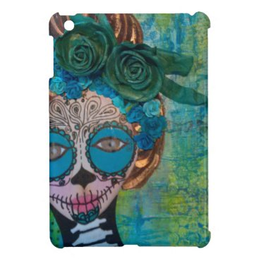 Halloween Themed dia de los muertos.jpg cover for the iPad mini
