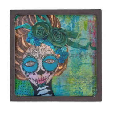 Halloween Themed dia de los muertos.jpg keepsake box
