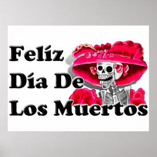 Dia De Los Muertos (La Catrina) Poster