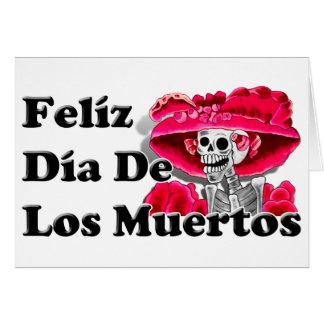 Dia De Los Muertos (La Catrina) Tarjetas
