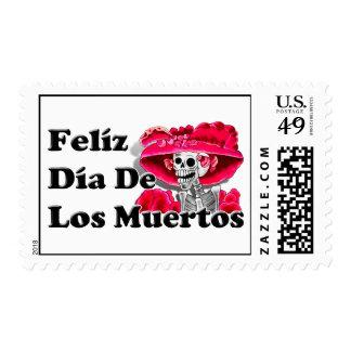 Dia De Los Muertos (La Catrina) Timbre Postal