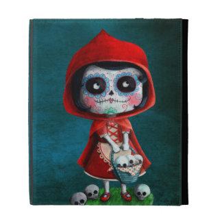 Dia de los Muertos Little Red Riding Hood iPad Folio Cover