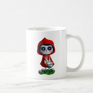 Dia de los Muertos Little Red Riding Hood Coffee Mug