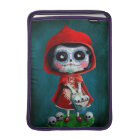 Dia de los Muertos Little Red Riding Hood MacBook Air Sleeve