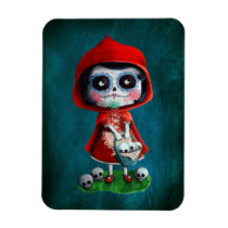 artsprojekt, fairy tale, halloween, red riding hood, dia de los muertos, sugar skull, day of the dead, la catrina, little red riding hood, fairytale, horror, skulls, dia de muertos, spooky, scary, catrina, calavera, gothic, mexico, mexican, spooky fairy tale, mexican fairy tale, fairy tale gift, halloween gift, halloween present, fairy tale present, red riding hood gift, red riding hood present, the day of the dead, children stories, folk tales, mexican day of the dead, day of the dead skulls, day of the dead mask, [[missing key: type_fuji_fleximagne]] com design gráfico personalizado