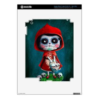 Dia de los Muertos Little Red Riding Hood Skins For iPad 3