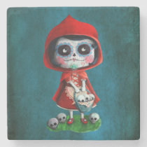artsprojekt, fairy tale, halloween, red riding hood, dia de los muertos, sugar skull, day of the dead, la catrina, little red riding hood, fairytale, horror, skulls, dia de muertos, spooky, scary, catrina, calavera, gothic, mexico, mexican, spooky fairy tale, mexican fairy tale, fairy tale gift, halloween gift, halloween present, fairy tale present, red riding hood gift, red riding hood present, the day of the dead, children stories, folk tales, mexican day of the dead, day of the dead skulls, day of the dead mask, [[missing key: type_giftstone_coaste]] com design gráfico personalizado