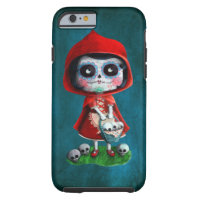 Dia de los Muertos Little Red Riding Hood Tough iPhone 6 Case
