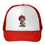 Dia de los Muertos Little Red Riding Hood Trucker Hat