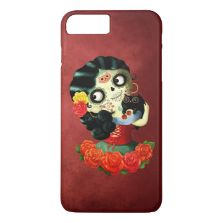 Dia de Los Muertos Lovely Mexican Catrina Girl iPhone 8 Plus/7 Plus Case